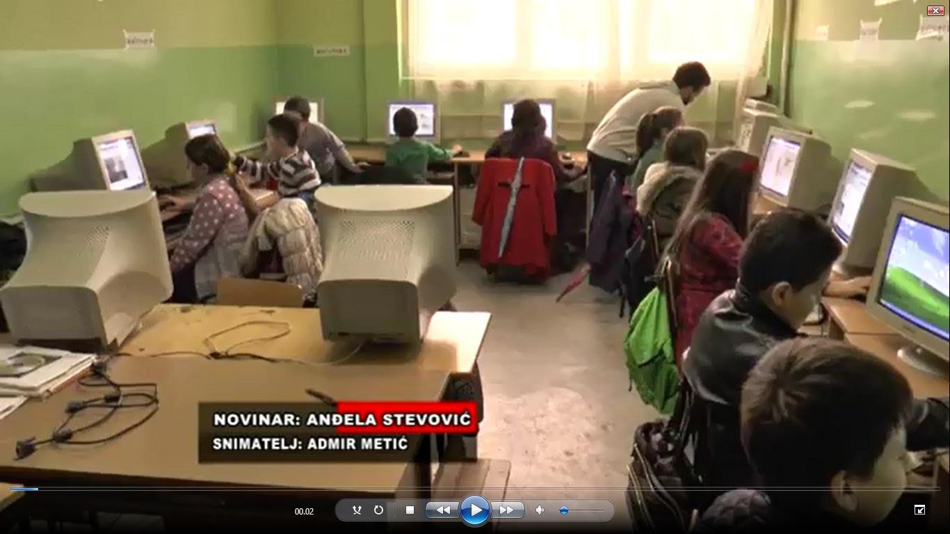 RAD ŠKOLICE PROGRAMIRANJA PROPRATILA TV ''JEDINSTVO'' (POGLEDAJTE VIDEO)