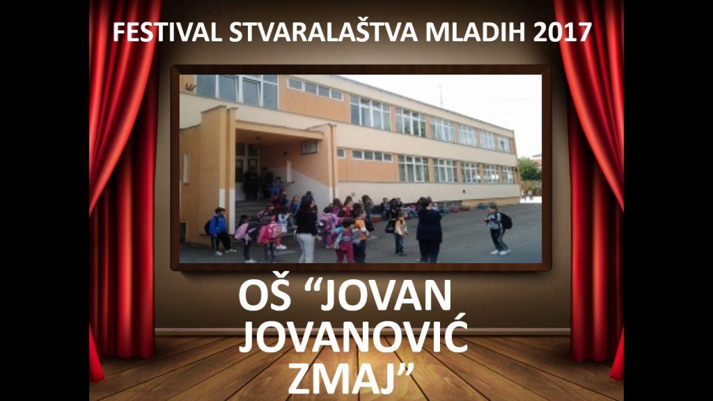 FESTIVAL STVARALAŠTVA MLADIH 2017