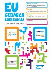 Meet and Code PROGRAM U NAŠOJ ŠKOLI
